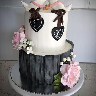 Love cake - Cake by Begum Rogers