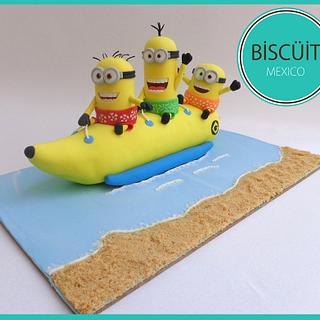 Minions Banana Boat - Sweet Summer Collab