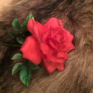 """My first red """"Sugar rose """" - Cake by Nina Bauch"""