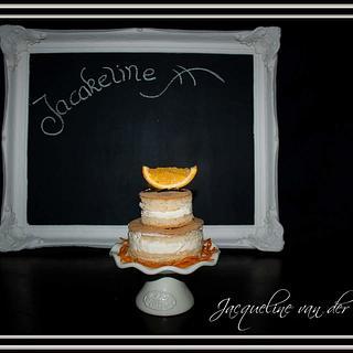 mini naked cake - Cake by Jacqueline