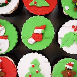 X'mas cupcakes