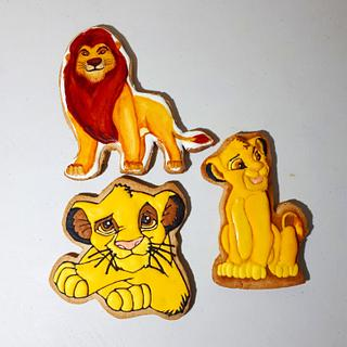 The Lion King cookie Set