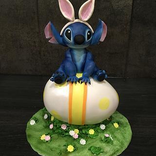 Stitch Easter Cake