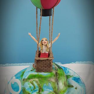 Hot air ballon cake - Cake by fiammetta