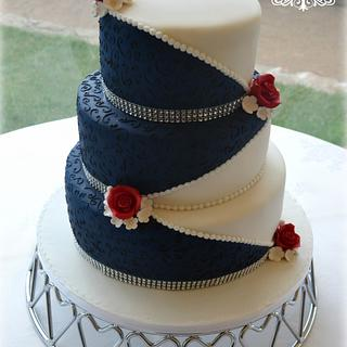 Medieval wedding cake