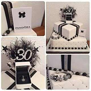 Pandora charm cake
