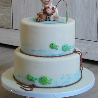 little fisherman - Cake by lamps