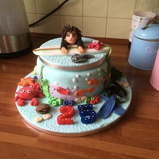 Under the sea - Cake by Loopsie