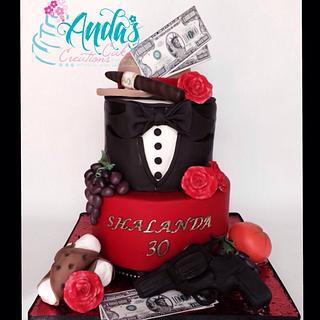 Godfather Cake