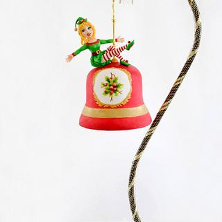 Jingle Bell Hanging Cake