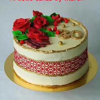 B'day cake - Cake by Marek