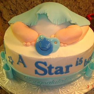 Baby Bottom Cake - Cake by Rosa