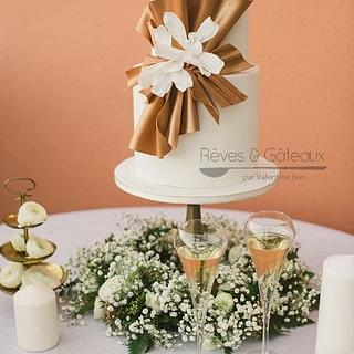 Wedding cake for Villa Florentine***** à Lyon