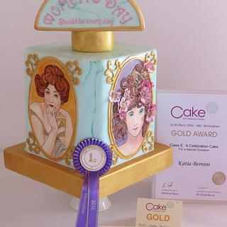 Birmingham Cake International spring edition 2016, tribute to women