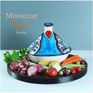 Moroccan Tagine pot cake
