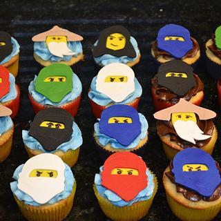 Ninjago cupcakes