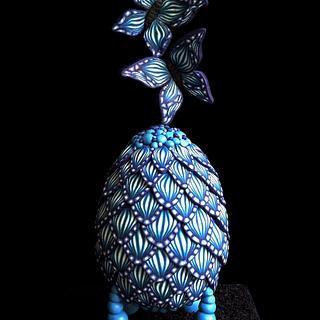 Huevos De Pascua Estilo Faberge collaboration - Butterfly wings
