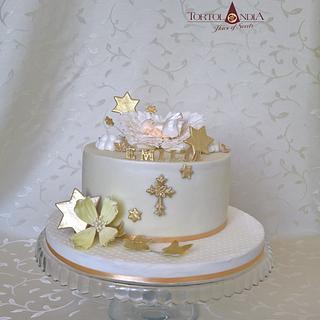 Christening cake for Emilia