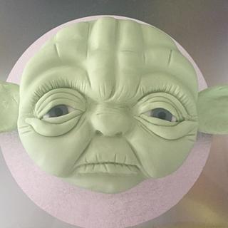 Yoda cake  - Cake by Misssbond