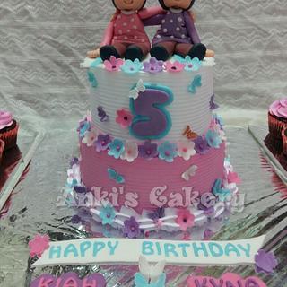 Elegant colours - Cake by Ankita