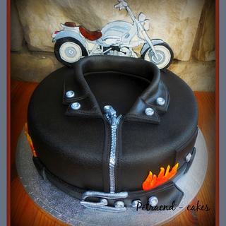 Biker cake - BMW 1200 C