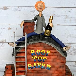 Roof top geezer - Cake by Cakey Bakes Cakes