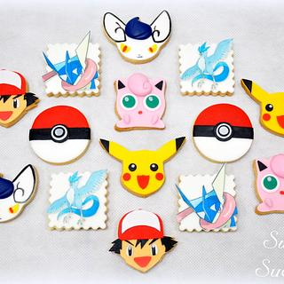 Pokemon Sugar Cookie
