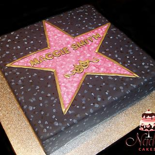 Hollywood Star Birthday Cake - Cake by Nada