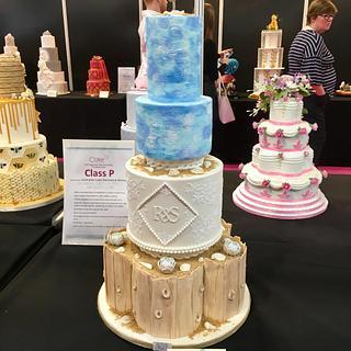 Beach Love - Cake by Daisychain's Cakes