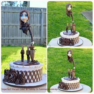 Imperfect Person Cake.