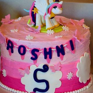 Celestial... The little pony  - Cake by Harjeet kaur