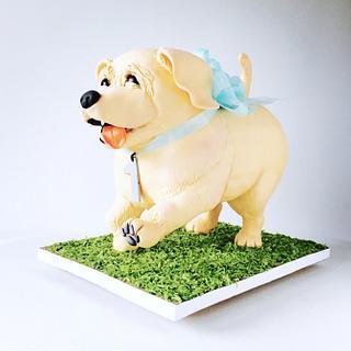 Puppy Cake  - Cake by Olga Zaytseva