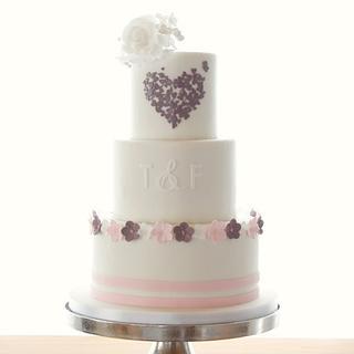 I heart - Cake by Odise