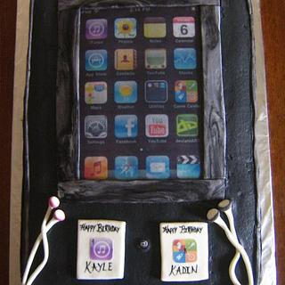 ipod cake - Cake by CC's Creative Cakes and more...
