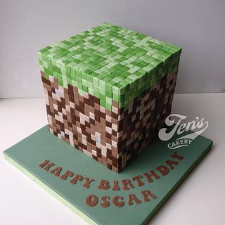 Minecraft cake - Cake by Jen's Cakery
