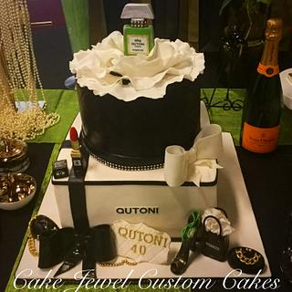 Coco Chanel Inspired Cake