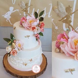 Fairy Garden Dreamland - Cake by SimplySweetCakes