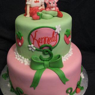 Strawberry Shortcake - Cake by Stephanie Shaw