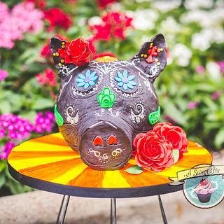 Sugar Skull Bakers - Rosie - Cake by Heather Nicole Chitty