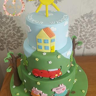 Children cake - Cake by Cakes of Art by Vicky