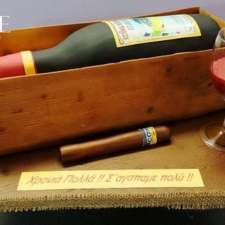 Wine cake - Cake by Choice