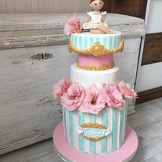 Ballerina cake - Cake by Martina Encheva