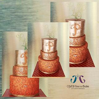 milestone birthday cake