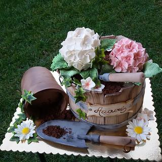 Torta giardinaggio - Gardening cake