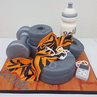 Weights cake