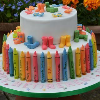 Headteacher's retirement cake - Cake by Doro
