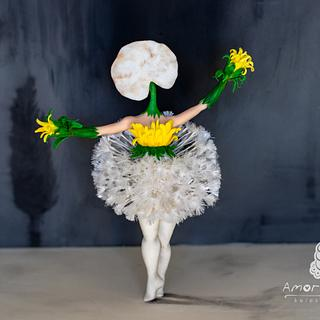 """Dance of the Dandelions- Salvador Dali"""
