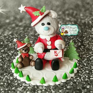 Christmas Santa Bears Collaboration