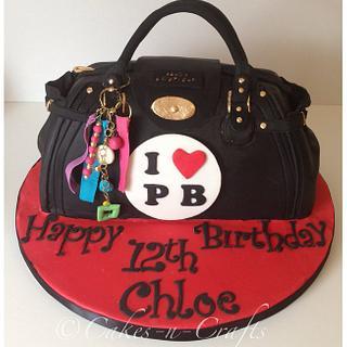 pauls boutique handbag with handmade charms
