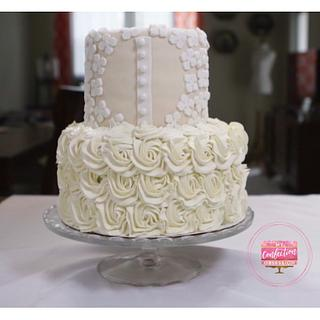 Wedding Dress Cake  - Cake by My Confection Obsession